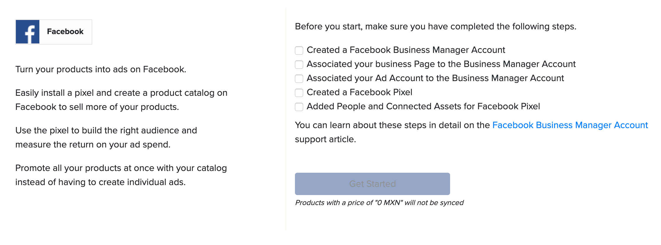Facebook Commerce: Sync a Facebook Shop with your Online Store