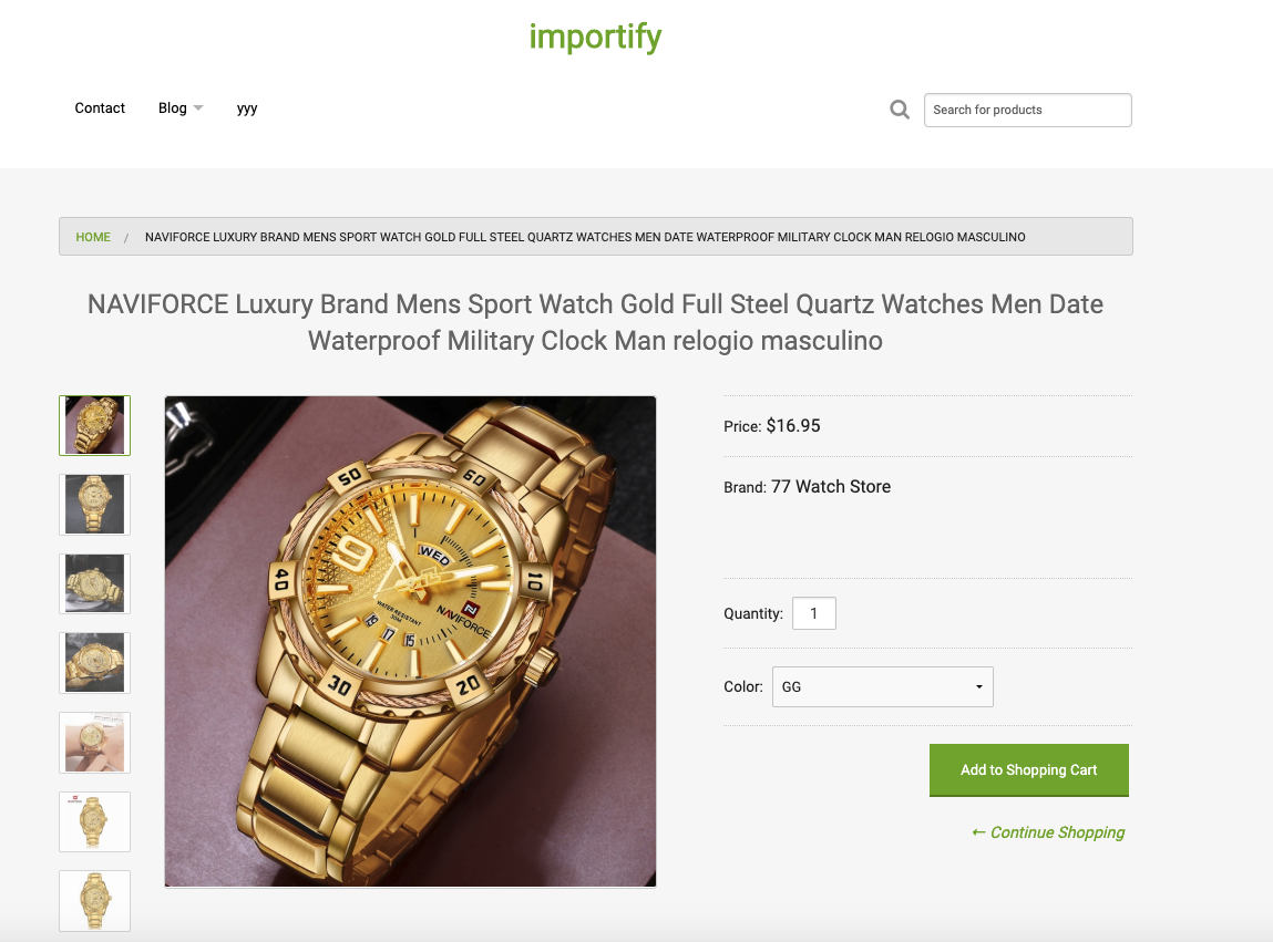 How to Use Importify for your Online Store
