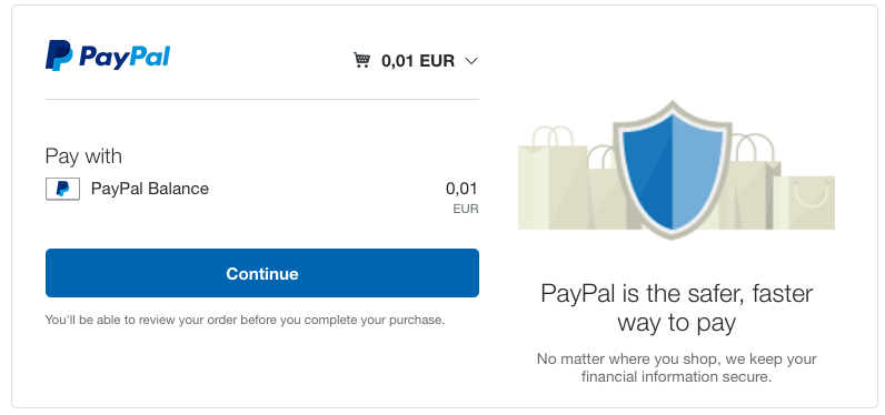 how to setup paypal express checkout
